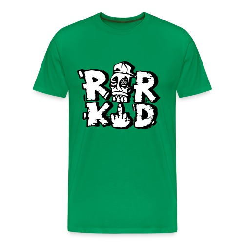rorkid 2 colour - Men's Premium T-Shirt