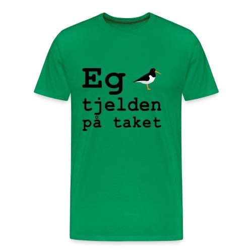 Tjeld - Premium T-skjorte for menn