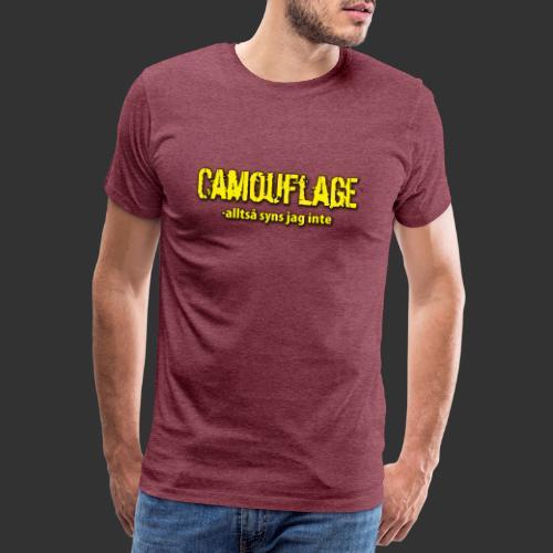 cammo - Premium-T-shirt herr