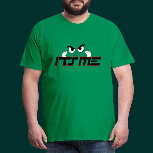 Faccia arrabbiata - Maglietta Premium da uomo
