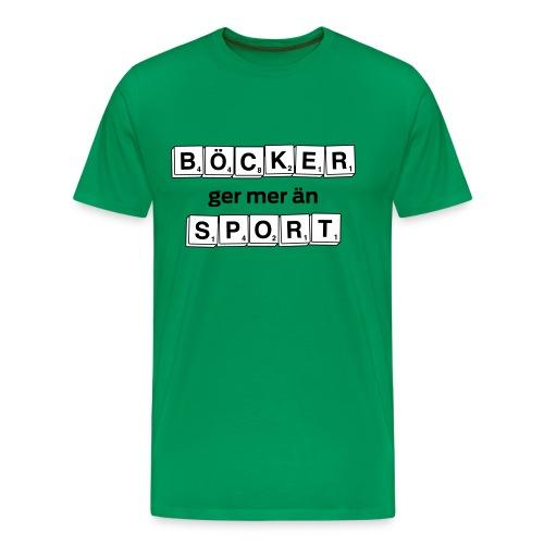 bocker sport - Premium-T-shirt herr