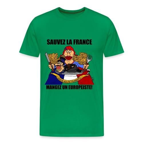 mangez un europeiste - T-shirt Premium Homme