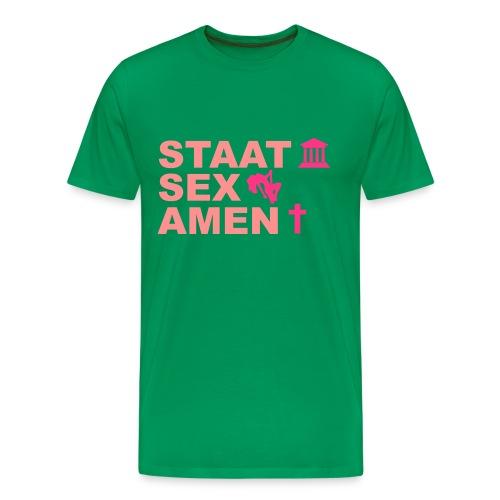 Staatsexamen / Staat Sex Amen - Männer Premium T-Shirt