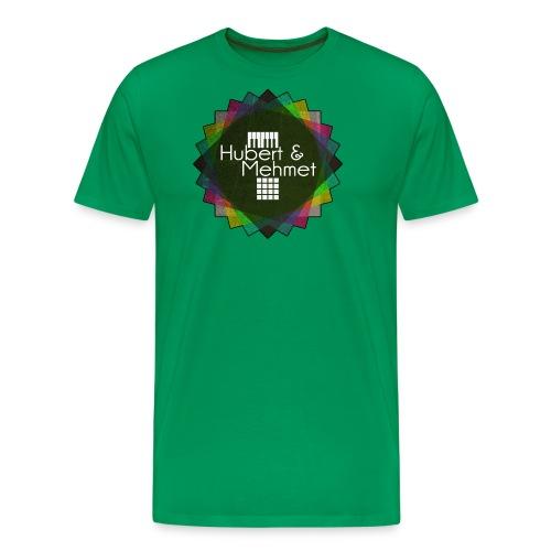 Circle Logo gif - Männer Premium T-Shirt