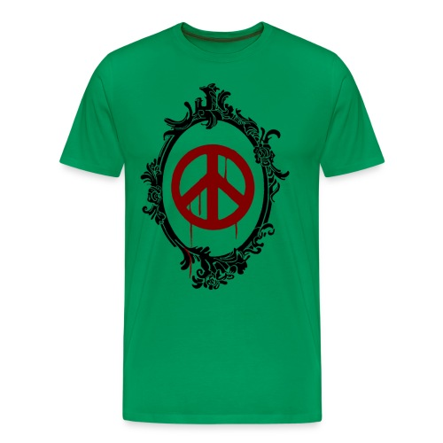 peacetransparent 2 - Männer Premium T-Shirt