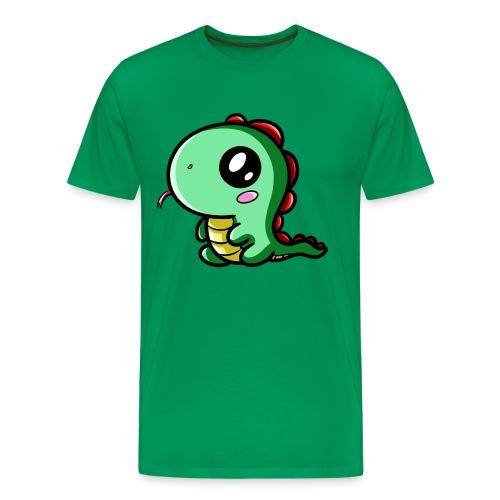 Dinosaure Kawaii - T-shirt Premium Homme