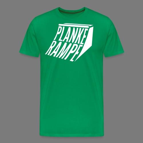 Planke Rampe - Männer Premium T-Shirt