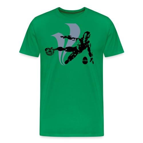 Football Robot - Maglietta Premium da uomo
