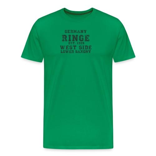 Ringe png - Männer Premium T-Shirt