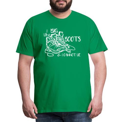 I like – Wanderschuhe - Männer Premium T-Shirt