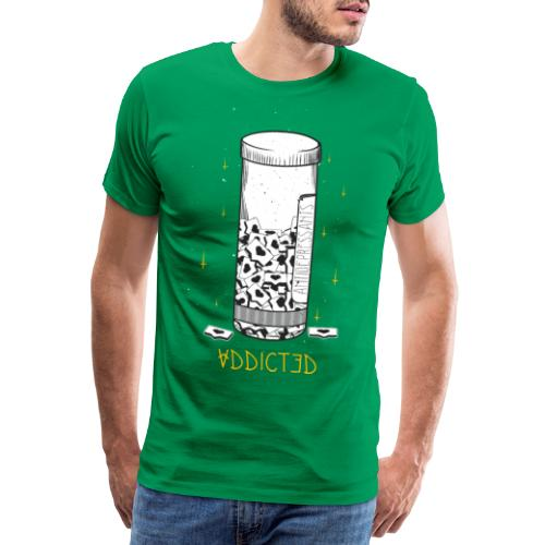 Addicted - Männer Premium T-Shirt