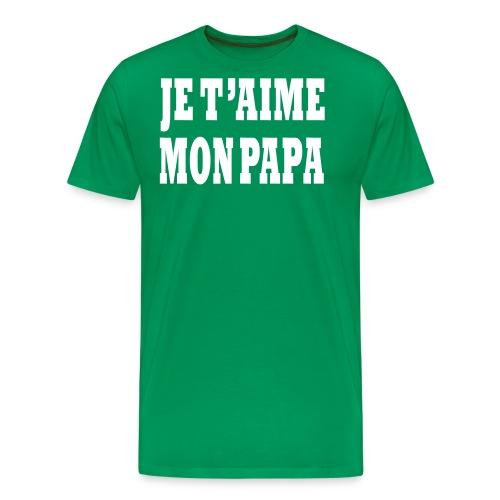 papa - T-shirt Premium Homme