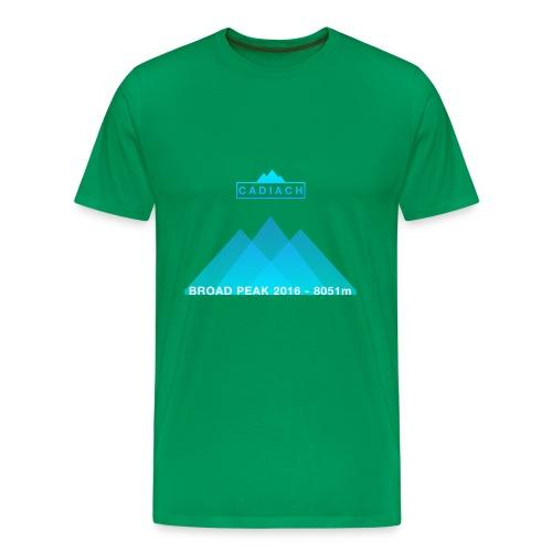 Cadiach Broad Peak 2016 - Hombre - Camiseta premium hombre