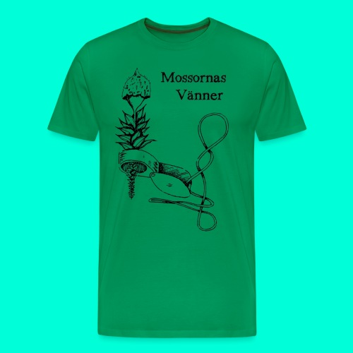 mossvanner - Premium-T-shirt herr
