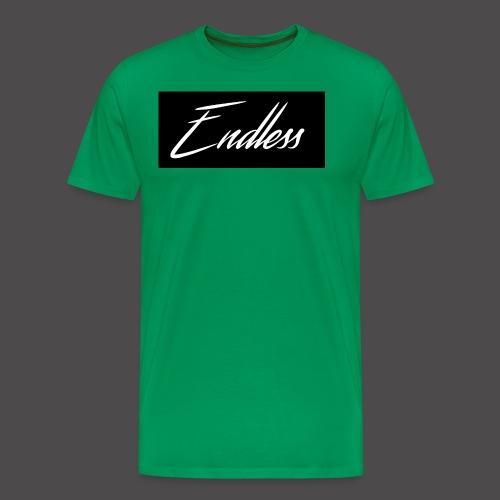 Endless Black - Männer Premium T-Shirt