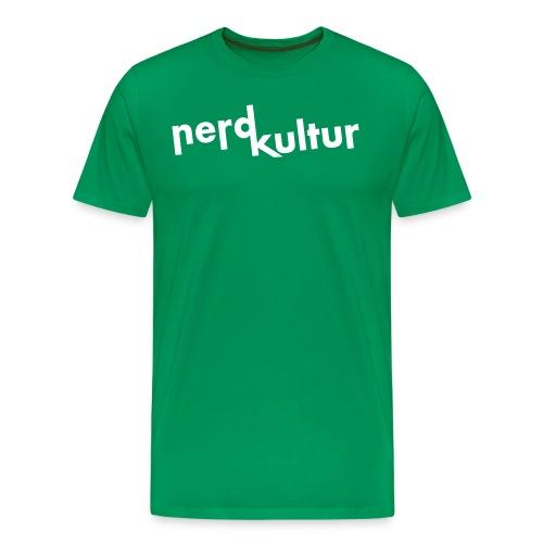 nerdkultur logo - Männer Premium T-Shirt