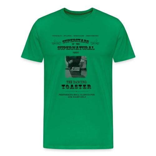 dancing toaster4 - Men's Premium T-Shirt