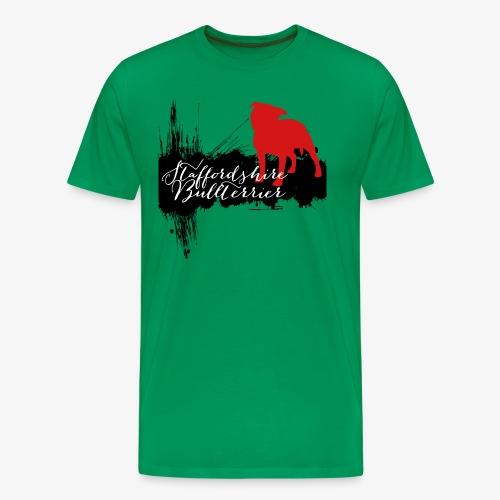 Staffordshire Bullterrier - Männer Premium T-Shirt
