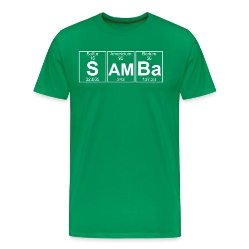 S-Am-Ba (samba) - Full - Men's Premium T-Shirt