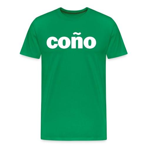 Conjo Wit - Mannen Premium T-shirt