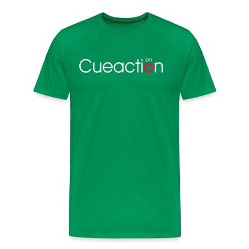 cueaction snooker - Männer Premium T-Shirt