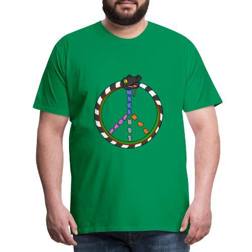 Bill Snakespeare Peace and Love - Men's Premium T-Shirt