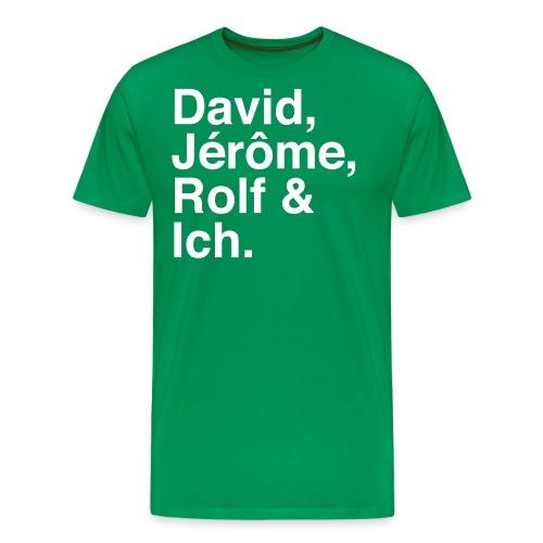 Fussballstyler - Männer Premium T-Shirt