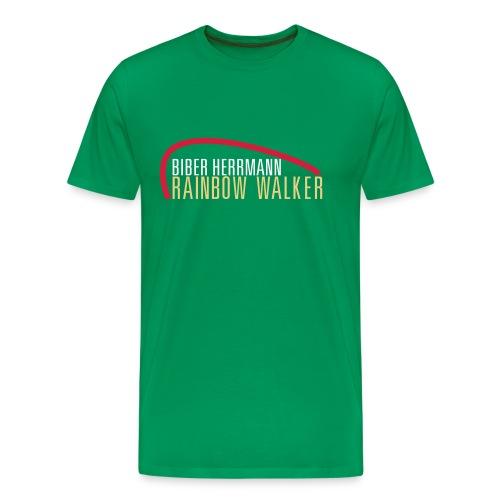 RAINBOW WALKER - Männer Premium T-Shirt