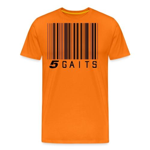 5gaitsBarcode - Men's Premium T-Shirt