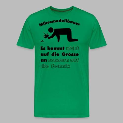 Mikromodellbau Weisheit - Männer Premium T-Shirt