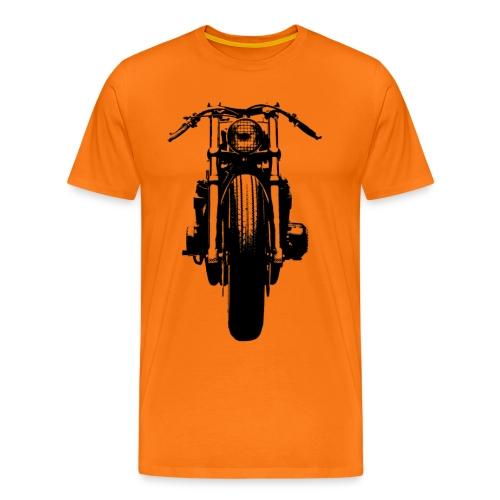 Motorcycle Front - Men's Premium T-Shirt