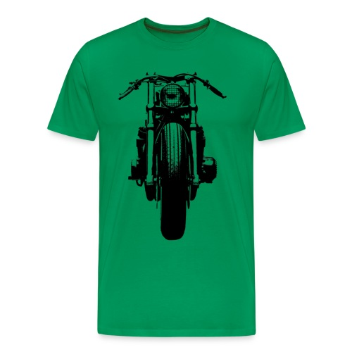 Motorcycle Front - Men's Premium T-Shirt