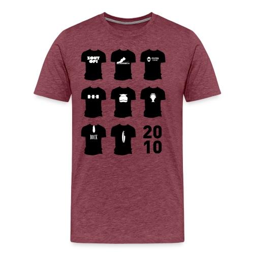 Shirt van 2010 - Mannen Premium T-shirt