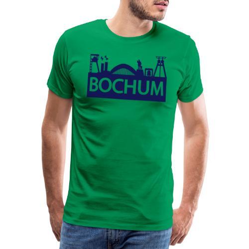 Bochumer Skyline - Männer Premium T-Shirt