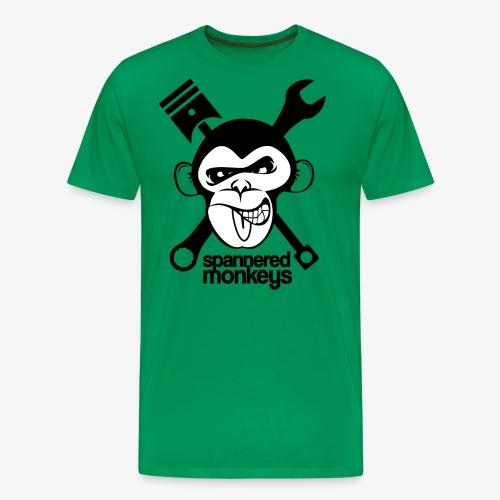 spanneredmonkeys-monkeyface - Men's Premium T-Shirt