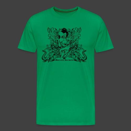 Mors certa - Männer Premium T-Shirt