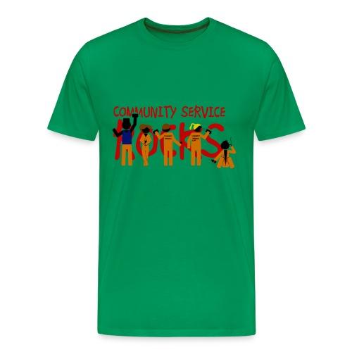 Misfits community service rocks - Camiseta premium hombre