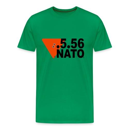.5.56 NATO NOIR - T-shirt Premium Homme