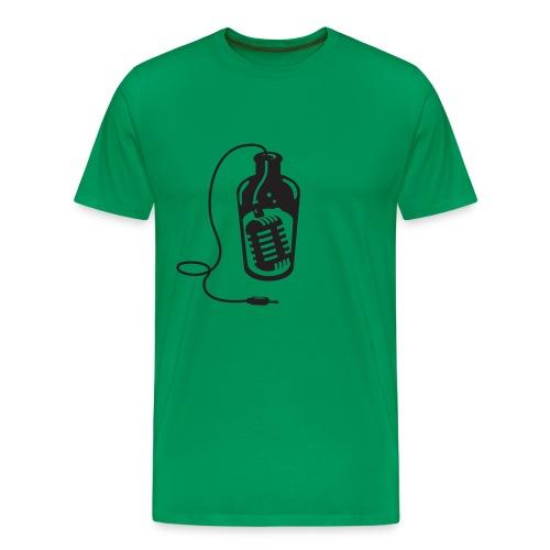 logonbfond clair - T-shirt Premium Homme