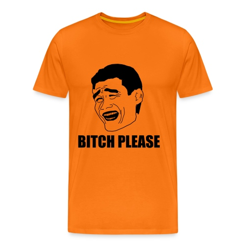 Yao Ming please text - Koszulka męska Premium