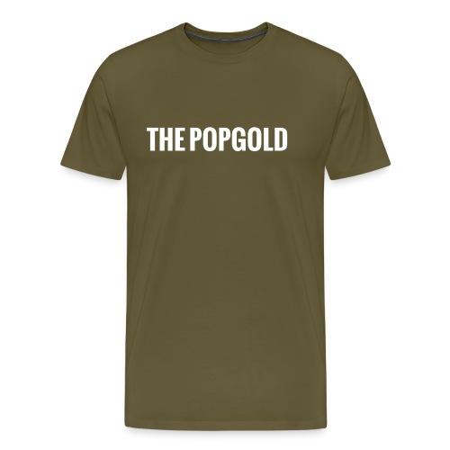 schrift white - Männer Premium T-Shirt