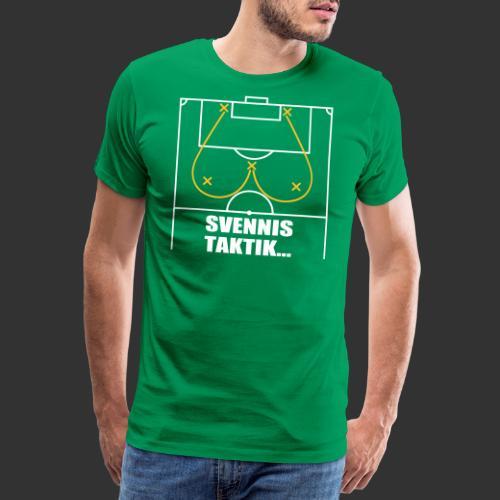 Svennis taktik - Premium-T-shirt herr
