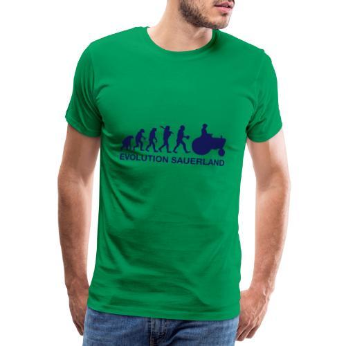 Evolution - Männer Premium T-Shirt