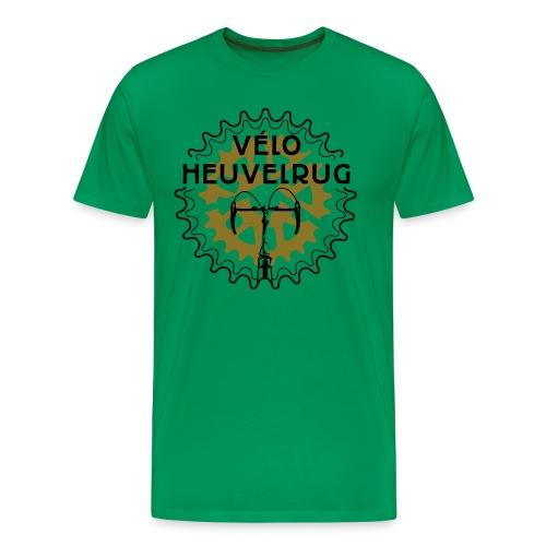 rug merkje VH g z eps - Mannen Premium T-shirt