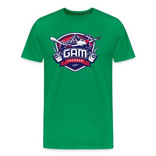 gam yverdon logo cmjnpage001 - T-shirt Premium Homme