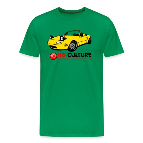 nac_gro_old_gelb - Männer Premium T-Shirt
