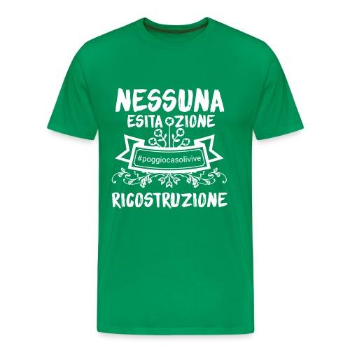 patch ricostruzione Poggio Casoli - Maglietta Premium da uomo