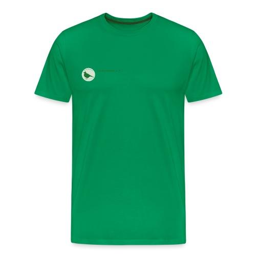 Kleines Vereinslogo - Männer Premium T-Shirt