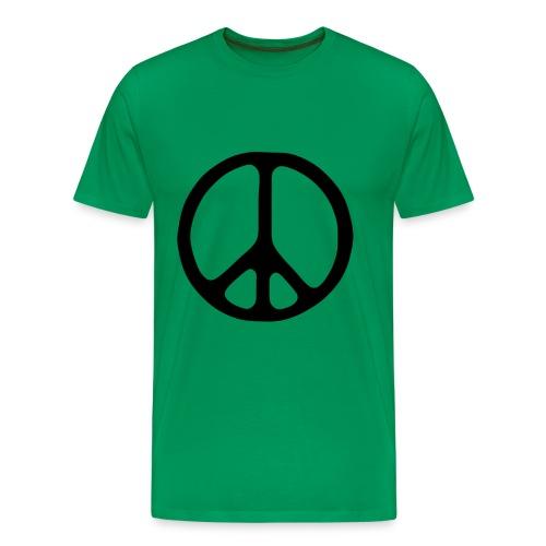 Peace sign - Premium-T-shirt herr