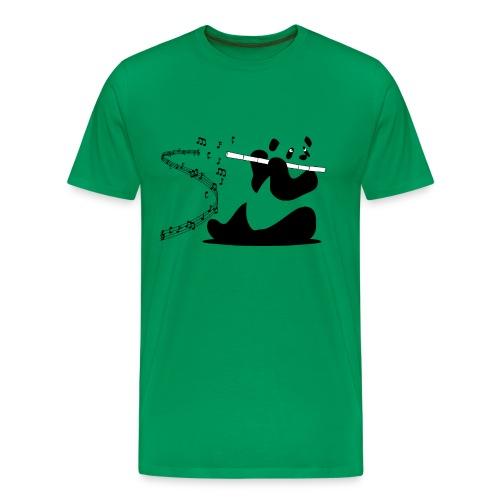 Panda Flute - T-shirt Premium Homme